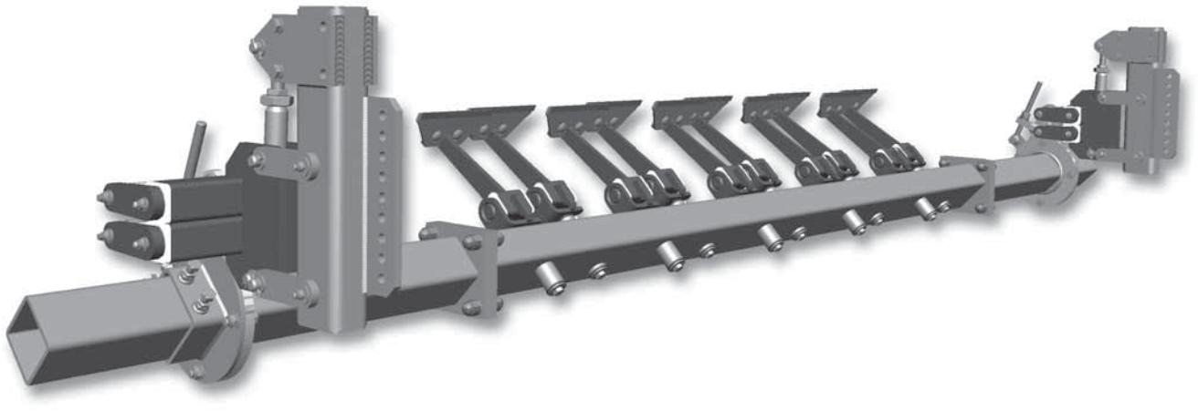 Hlavní stěrač na dopravní pásy HOSCH C4